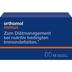 Abbildung von Orthomol Immun Tabletten Kapseln 15beutel  Kombipackung