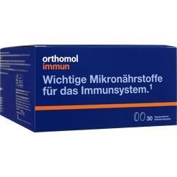 Abbildung von Orthomol Immun Tabletten Kapseln 30beutel  Kombipackung