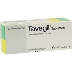 Abbildung von Tavegil  Tabletten