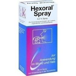 Abbildung von Hexoral 0.2 % Spray  Lösung