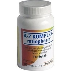 Abbildung von A-z Komplex-ratiopharm  Tabletten