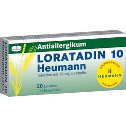 Abbildung von Loratadin 10 Heumann  Tabletten