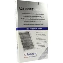 Abbildung von Actisorb 220 Silver 19x10.5cm Steril  Kompressen