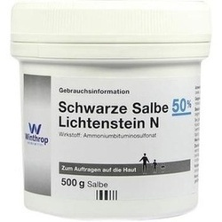 Abbildung von Schwarze Salbe 50% Lichtenstein N