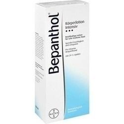 Abbildung von Bepanthol Intensiv Körperlotion Flasche  Lot