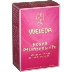 Abbildung von Weleda Rosen Pflanzenseife  Sei
