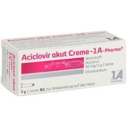 Abbildung von Aciclovir Akut Creme - 1a-pharma