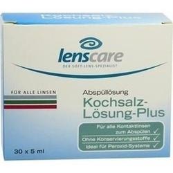 Abbildung von Lenscare Kochsalz-lösung-plus