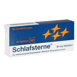 Abbildung von Schlafsterne  Tabletten