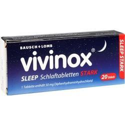 Abbildung von Vivinox Sleep Schlaftabletten Stark