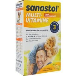 Abbildung von Sanostol Ohne Zuckerzusatz  Saft