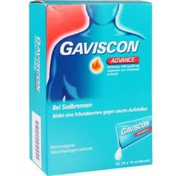 Abbildung von Gaviscon Advance Pfefferminz  Suspension