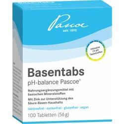 Abbildung von Basentabs Ph-balance Pascoe  Tabletten