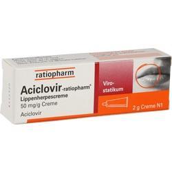 Abbildung von Aciclovir-ratiopharm Lippenherpescreme