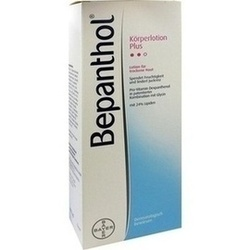Abbildung von Bepanthol Körperlotion Plus Spenderflasche