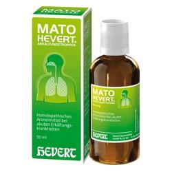 Abbildung von Mato Hevert Erkältungstropfen