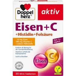 Abbildung von Doppelherz Eisen+vit.c+l-histidin  Tabletten
