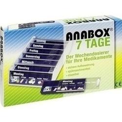 Abbildung von Anabox 7 Tage Wochendosierer Blau