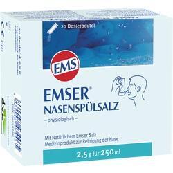 Abbildung von Emser Nasenspülsalz Physiologisch Beutel  Pulver