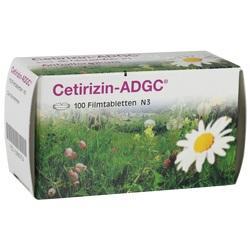 Abbildung von Cetirizin-adgc  Filmtabletten