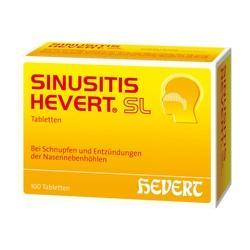 Abbildung von Sinusitis Hevert Sl  Tabletten