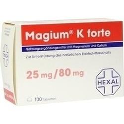 Abbildung von Magium K Forte Tabletten