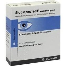 Abbildung von Siccaprotect  Augentropfen