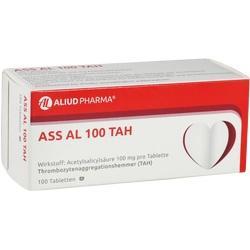 Abbildung von Ass Al 100 Tah  Tabletten