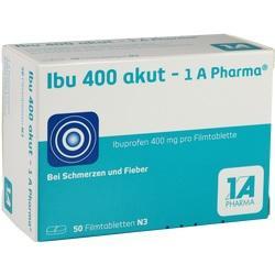 Abbildung von Ibu 400 Akut - 1a Pharma  Filmtabletten