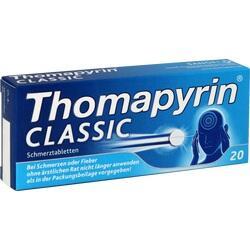 Abbildung von Thomapyrin Classic Schmerztabletten
