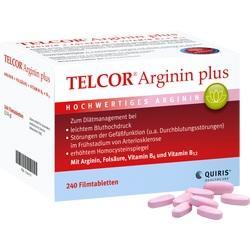 Abbildung von Telcor Arginin Plus  Filmtabletten