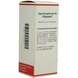 Abbildung von Apomorphinum N Oligoplex  Tropfen