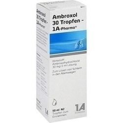Abbildung von Ambroxol 30 Tropfen-1a Pharma  Lösung