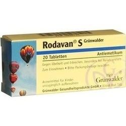 Abbildung von Rodavan S Grünwalder  Tabletten