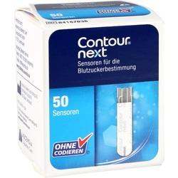 Abbildung von Contour Next Sensoren Teststreifen