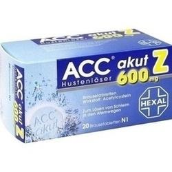 Abbildung von Acc Akut 600 Z Hustenlöser  Brausetabletten