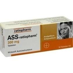 Abbildung von Ass-ratiopharm 300mg  Tabletten