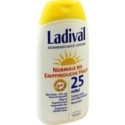 Abbildung von Ladival Norm.bis Empf.haut Lotion Lsf25
