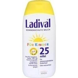Abbildung von Ladival Kinder Sonnenmilch Lsf25