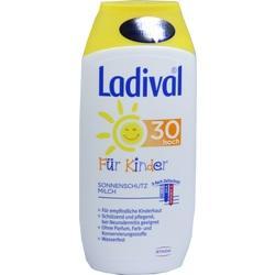 Abbildung von Ladival Kinder Sonnenmilch Lsf30