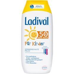 Abbildung von Ladival Kinder Sonnenmilch Lsf50+