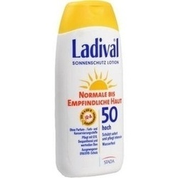 Abbildung von Ladival Norm.bis Empf.haut Lotion Lsf50