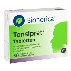 Abbildung von Tonsipret Tabletten