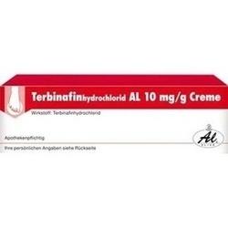 Abbildung von Terbinafinhydrochlorid Al 10mg G Creme