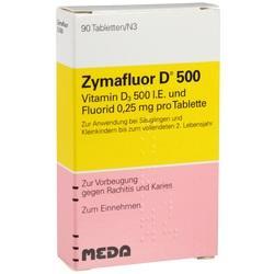Abbildung von Zymafluor D 500  Tabletten