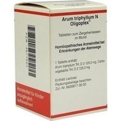 Abbildung von Arum Triphyllum N Oligoplex  Tabletten