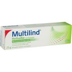 Abbildung von Multilind Heilsalbe Mit Nystatin U. Zinkoxid  Paste