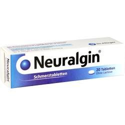 Abbildung von Neuralgin  Tabletten
