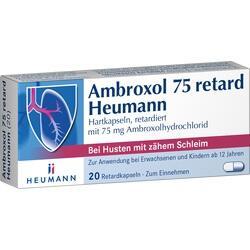 Abbildung von Ambroxol 75 Retard Heumann  Retardkapseln