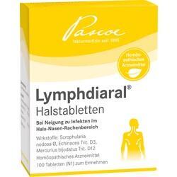 Abbildung von Lymphdiaral Halstabletten